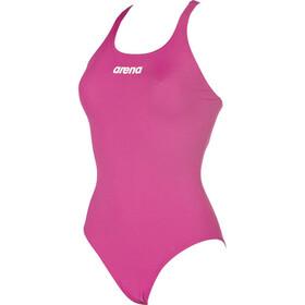 arena Solid Swim Pro Strój kąpielowy Kobiety, fresia rose-white